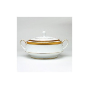 Crestwood Gold 1420ml Covered Vegetable Dish