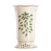 Holiday Pierced Vase