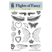 Hot off The Press Acrylic Stamps, Flights of Fancy