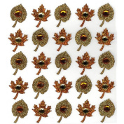 Jolee's Harvest Stickers-Fall Leaves Repeats