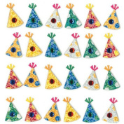 Repeats Party Hat Stickers