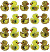 Repeats Duck Stickers