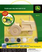 John Deere Wood Painting Kit Classic Tractor