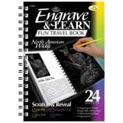 Engrave Learn North American Wildlife Fun Travel Book