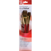 RealValue Natural Camel Brushes