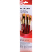 RealValue Golden Taklon Brushes