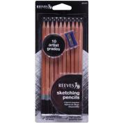Reeves Sketching Pencils 10/Pkg
