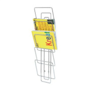 Wires Wall-Mounted Magazine Rack