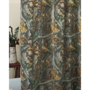 Timber Cotton / Poly Shower Curtain