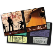 Concert Ticket Album Holder- Country