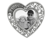 Papa Heart Picture Frame