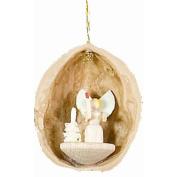 Alexander Taron Angel Nutshell Ornament