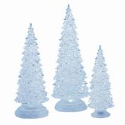 Three Piece Lighted Tree Set