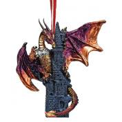 Zanzibar, the Gothic Dragon 2012 Holiday Ornament