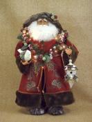Crakewood Lighted Woodland Santa Claus Figurine