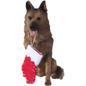 German Shepherd Christmas Tree Ornament