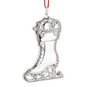 Francis I Ice Skate Sterling Ornament