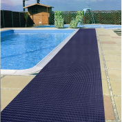 World's Best Barefoot Mat 0.6m x 9.1m Safety and Comfort Mat in Oxford Blue