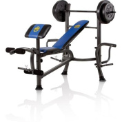 Standard Bench and 36kg. Weight Set