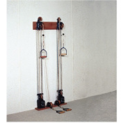 One Tower Dual Handle Chest Weight Pulley System