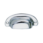 Perko Surface Mount Drawer Pull - Chrome Plated Zinc