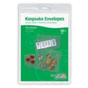 Keepsake Envelopes 10/Pkg-4 Small, 3 Medium, 2 Large & 1 Jumbo