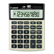 10-Digit Calculator, Dual PoWhiter, 10cm x14cm x3.4cm , Black