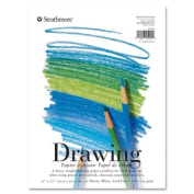 Strathmore Drawing Pads, 32kg., 23cm x30cm , 40 Sheets