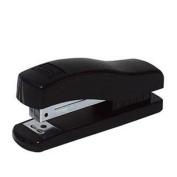 Half Strip Stapler, Rounded Base, 19cm x4.4cm x17cm , Black