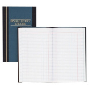 Account Book, S.E. Ledger-Ruled, 150 Pages, 30cm x18cm , Blue