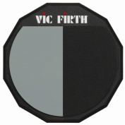 Vic Firth Single-Sided/Divided Practise Pad 30cm