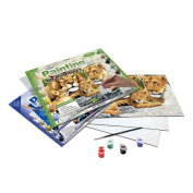 Royal & Langnickel Painting by Numbers Junior Large Art Activity Kit, Safari Scene