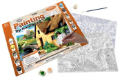 Painting by Numbers Cottage River Adult Set
