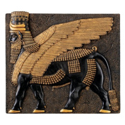 Assyrian Winged Bull Wall Sculpture