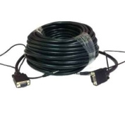 30m x 0m SVGA VGA M/M 3x Shielded Monitor Cable w/AUDIO 30m x 0m Male to Male 3.5mm stereo HD15 Audio/Video Laptop to TV, LCD TV HDTV 30m x 0m