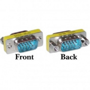 PcConnectTM HD15 (VGA) Male / HD15 (VGA) Male, VGA Mini Gender Changer