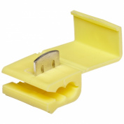 Morris Products 10776 Quick Splice Connector, Yellow, 12-10 Wire Range