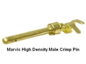 Pc Accessories- D-Sub High Density Male Crimp Pins, 100/Bag Gold Plated