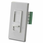 Leviton SGVSM-W Decora Strauss Transformer-Free Impedance Matched Volume Control, White