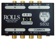 Rolls SS32 3 Way Stereo Switch