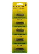 (5) 27A A27 G27A B-1 L828 CA22 GP27A Battery 12V