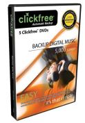 Clickfree Automatic Backup DVD Music Edition DVD200-5, 5-Pack