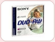 SONY DVD-RW 2.8Gb 8cm 60min Pack 5 camcorder mini dvd 2.8 gb sony dvd rw
