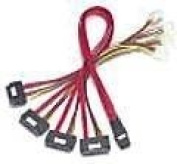 5M SFF-8087 To SFF8482X4 Cable Mini-sas To SASX4 Fan Out