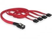Internes SAS-Kabel (Serial Attached SCSI) - 4-Lane - 36 pin 4i Mini MultiLane - Serial ATA, 7-polig - 50 cm