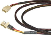 3 Pin Sleeved Fan Cable extension 30cm