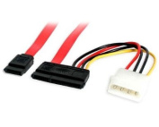 Micro Connectors, Inc. SATA Data Combo Cable with LP4 Adapter