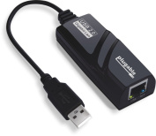Plugable USB 2.0 to 10/100/1000 Gigabit Ethernet LAN Wired Network Adapter for Windows, Mac, Chromebook, Linux, and Specific Android Tablets