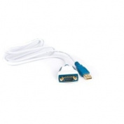 Premium USB to RS232, 1 Mbps, Converter Cable, 1m Length with LEDs