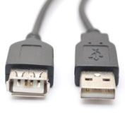 USB 2.0 A-Male to A-Female Extension Cable